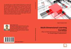Buchcover von Multi-Dimensional Learning Variables