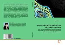 Bookcover of International Organizations in South Caucasus