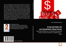 Borítókép a  EVALUATION OF ACCOUNTING PRACTICES - hoz