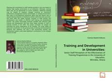 Capa do livro de Training and Development in Universities: