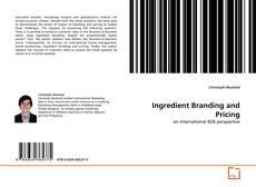 Borítókép a  Ingredient Branding and Pricing - hoz