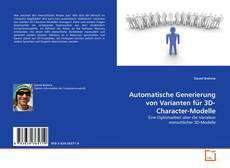 Capa do livro de Automatische Generierung von Varianten für 3D-Character-Modelle