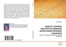 Borítókép a  QUALITY CONTROL ANALYSIS OF DRINKING WATER FROM DIFFERENT LOCATIONS - hoz