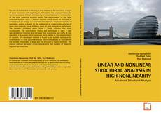 Capa do livro de LINEAR AND NONLINEAR STRUCTURAL ANALYSIS IN HIGH-NONLINEARITY