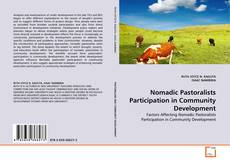 Bookcover of Nomadic Pastoralists Participation in Community Development