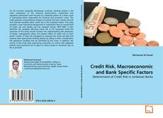 Portada del libro de Credit Risk, Macroeconomic and Bank Specific Factors
