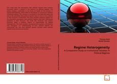 Couverture de Regime Heterogeneity