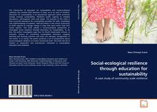 Couverture de Social-ecological resilience through education for sustainability