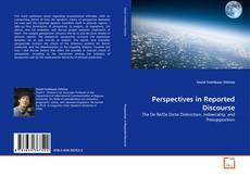 Perspectives in Reported Discourse kitap kapağı