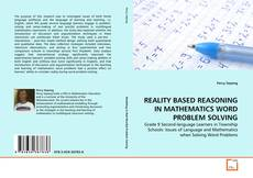 Bookcover of REALITY BASED REASONING IN MATHEMATICS WORD PROBLEM SOLVING