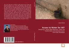 Portada del libro de Access to Water for All?
