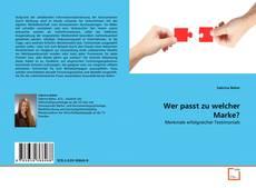 Bookcover of Wer passt zu welcher Marke?