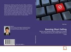 Buchcover von Banning Short Selling