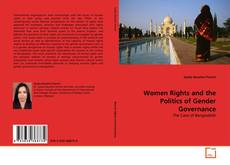 Bookcover of Women Rights and the Politics of Gender Governance