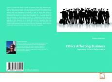 Buchcover von Ethics Affecting Business