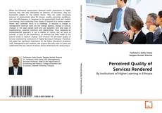 Bookcover of Perceived Quality of Services Rendered