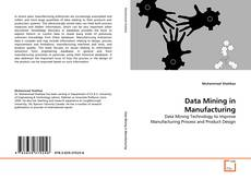 Capa do livro de Data Mining in Manufacturing