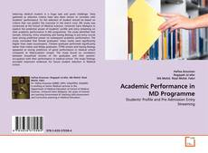 Обложка Academic Performance in MD Programme