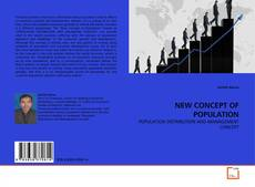 Bookcover of NEW CONCEPT OF POPULATION