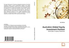 Bookcover of Australia's Global Equity Investment Position