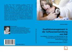 Bookcover of Qualitätsmanagement in der Softwareentwicklung mit PHP