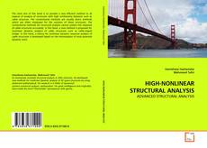 Capa do livro de HIGH-NONLINEAR STRUCTURAL ANALYSIS