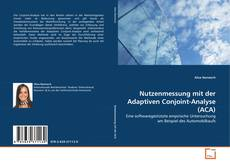 Copertina di Nutzenmessung mit der Adaptiven Conjoint-Analyse (ACA)