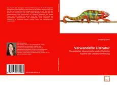 Обложка Verwandelte Literatur