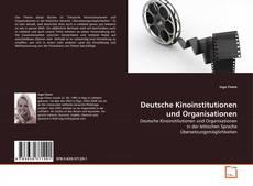 Capa do livro de Deutsche Kinoinstitutionen und Organisationen