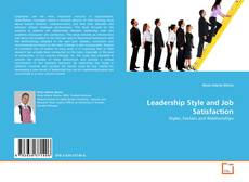 Bookcover of Leadership Style and Job Satisfaction