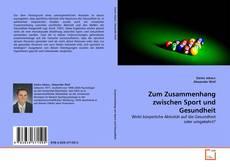 Buchcover von Zum Zusammenhang zwischen Sport und Gesundheit