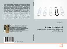Capa do livro de Brand Authenticity