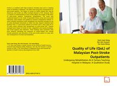 Обложка Quality of Life (QoL) of Malaysian Post-Stroke Outpatients