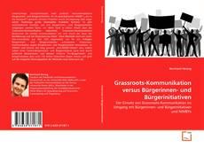 Buchcover von Grassroots-Kommunikation versus Bürgerinnen- und Bürgerinitiativen