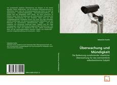 Обложка Überwachung und Mündigkeit