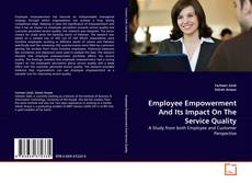 Employee Empowerment And Its Impact On The Service Quality kitap kapağı
