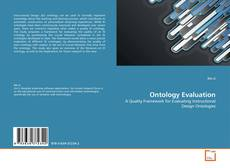 Couverture de Ontology Evaluation