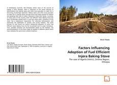 Bookcover of Factors Influencing Adoption of Fuel Efficient Injera Baking Stove