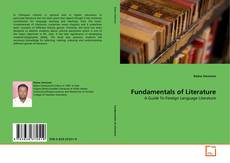 Bookcover of Fundamentals of Literature