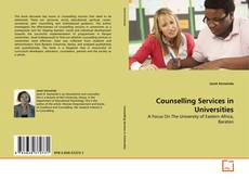 Copertina di Counselling Services in Universities
