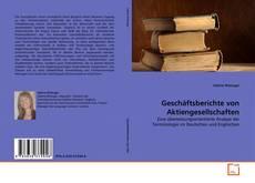 Geschäftsberichte von Aktiengesellschaften kitap kapağı
