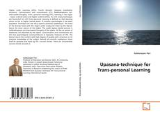 Copertina di Upasana-technique for Trans-personal Learning