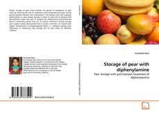 Bookcover of Storage of pear with diphenylamine