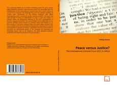 Buchcover von Peace versus Justice?