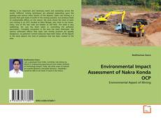 Environmental Impact Assessment of Nakra Konda OCP的封面