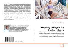 Bookcover of Shopping Leakage: Case Study of Maseru