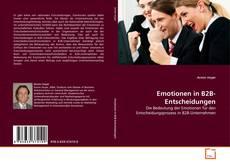 Couverture de Emotionen in B2B-Entscheidungen