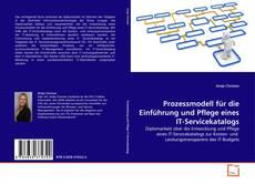 Buchcover von Prozessmodell für die Einführung und Pflege eines IT-Servicekatalogs