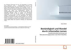 Capa do livro de Beständigkeit und Wandel durch informelles Lernen