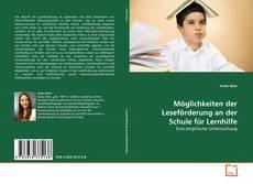 Buchcover von Möglichkeiten der Leseförderung an der Schule für Lernhilfe